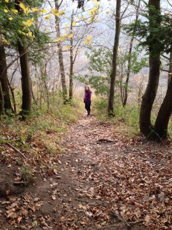 me in woods