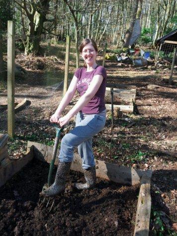 Me Digging!