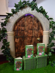 The faerie door to Eireaf was handmade by Jon Fellows