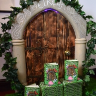 The faerie door to Eireaf was handmade by Jon Fellows